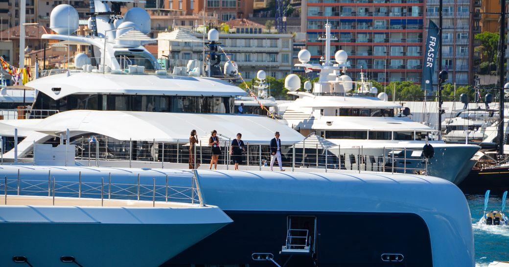 The Monaco Yacht Show 2018 Opens photo 9