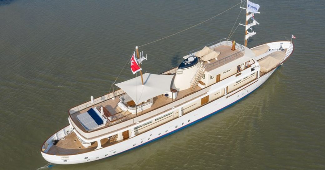 Classic motor yacht ISTROS set to join charter fleet following rebuild photo 1