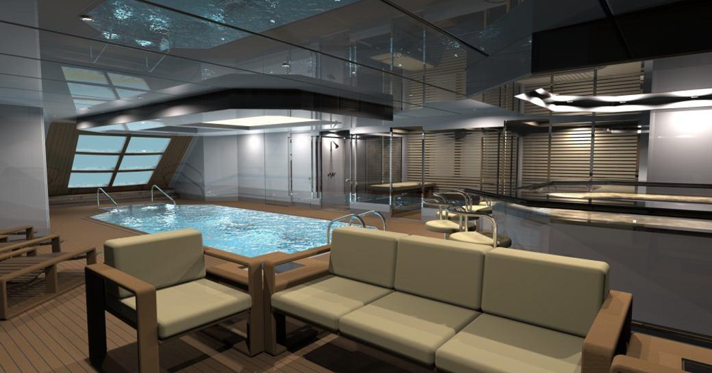 tatiana yacht beach club with pool and lounge area