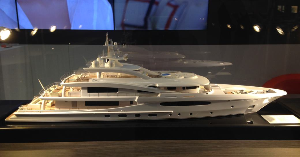 detailed model of new project from Amels shipyard