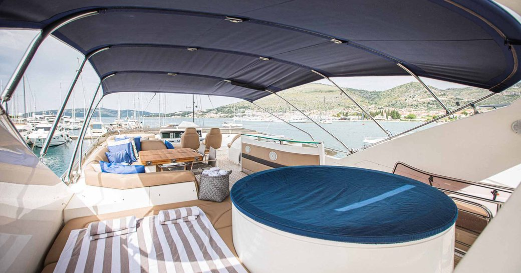 insieme yacht outdoor spaces