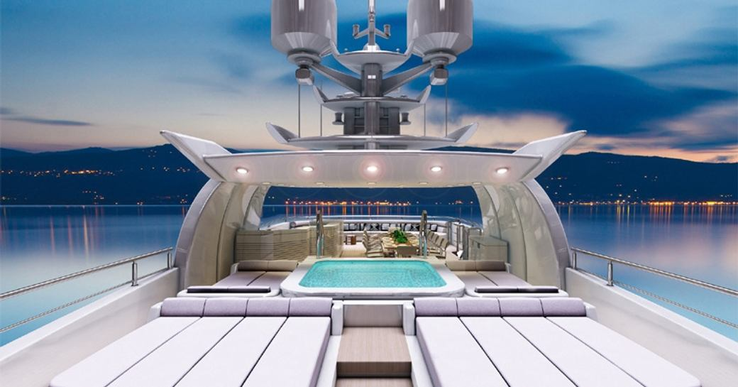 O'Pari 3 yacht large sundeck for charters