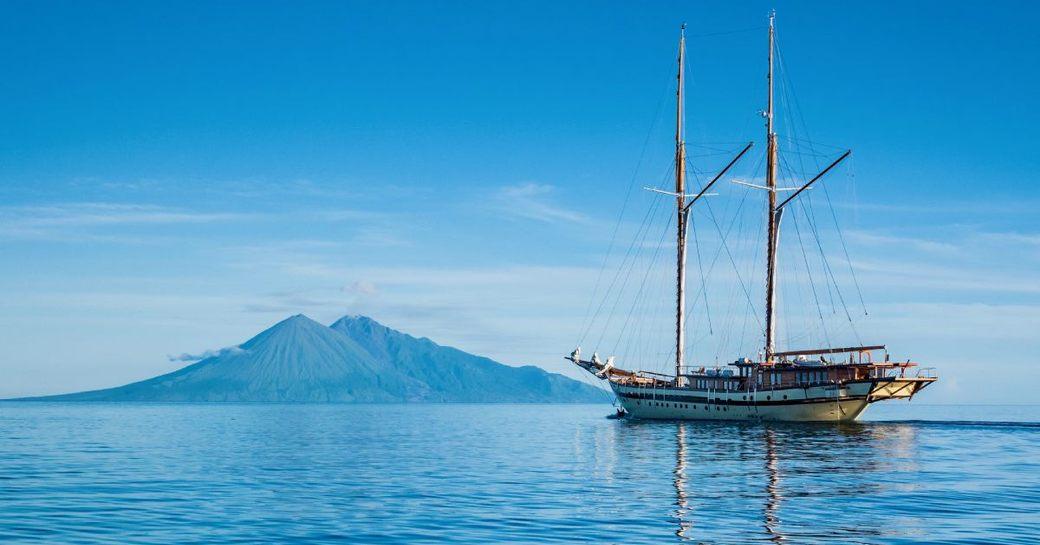 LAMIMA superyacht in Indonesia