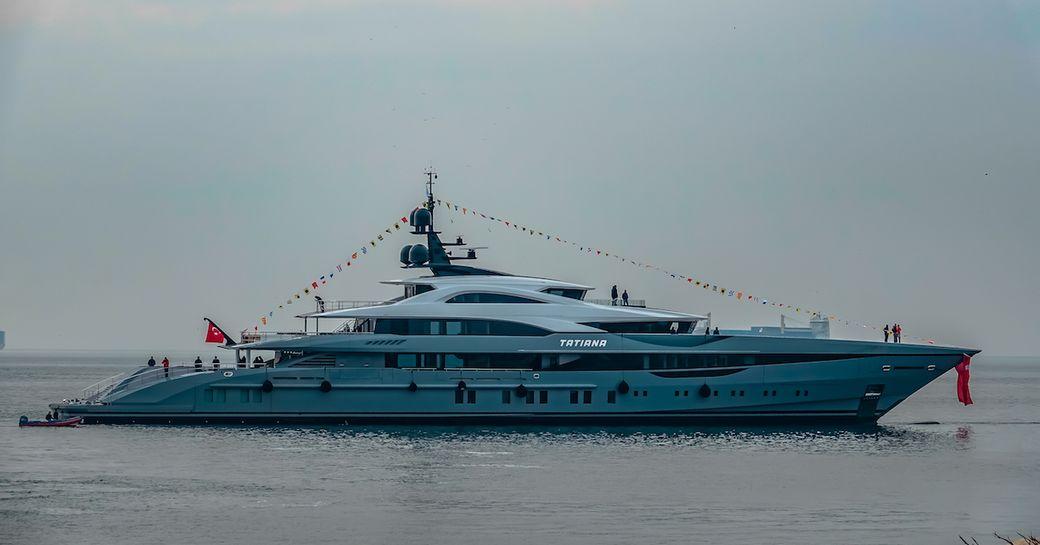 Bilgin launches largest Turkish-built superyacht: 80m TATIANA  photo 1