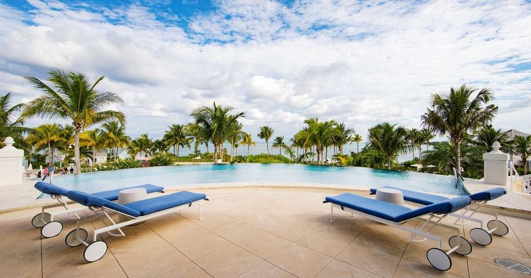 Pool view of Nexus club baha mar