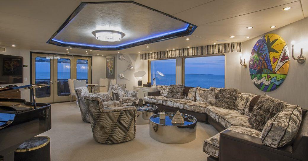 luxury yacht sweet escape sky lounge