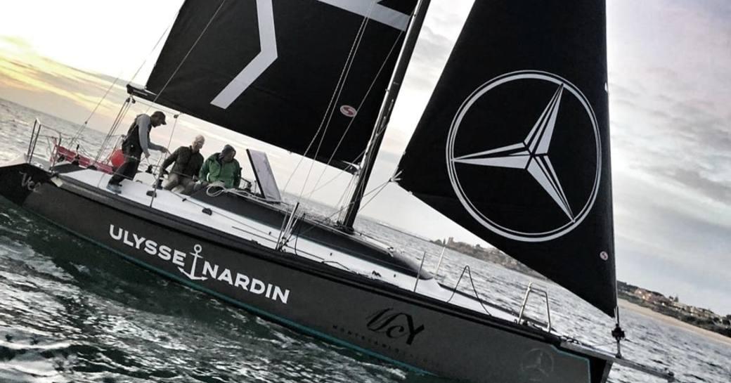 on board sailing yacht scia