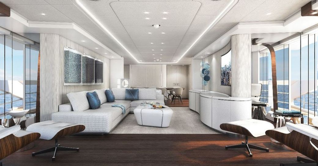 Heesen launches second hybrid yacht Project Electra photo 14
