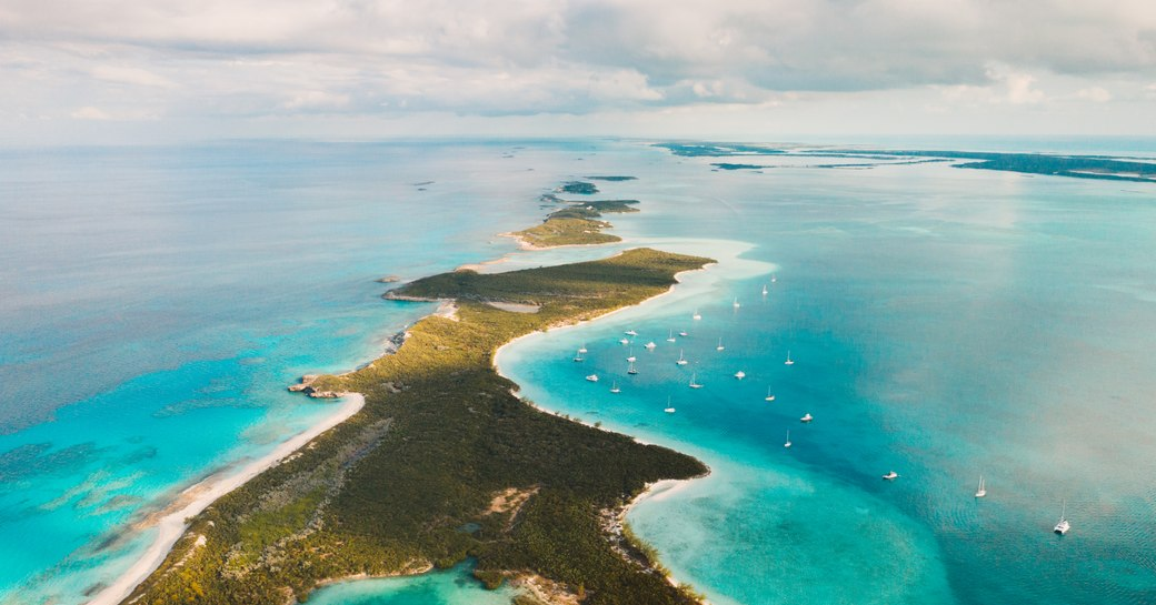 Abacos islands in the Bahamas