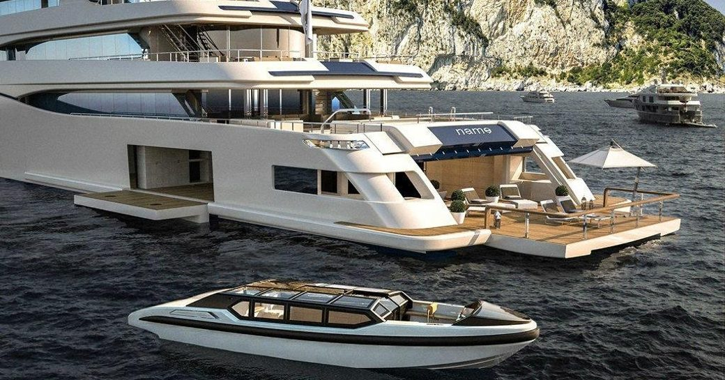 Brand New Superyacht 'Cloud 9' To Launch Soon From CRN photo 1