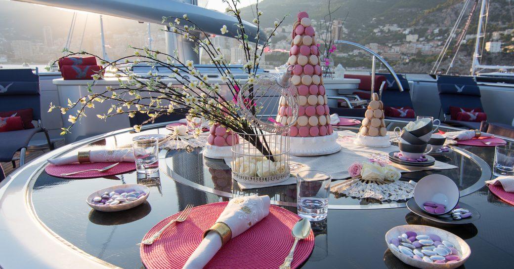 Charter Yacht 'Maltese Falcon' Wins Prestigious Table Setting Competition photo 5