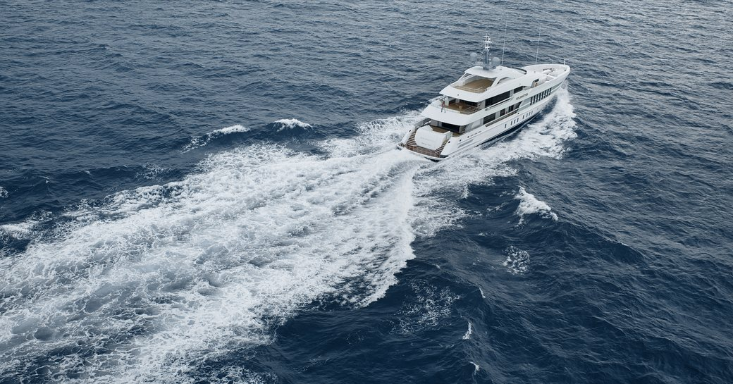 solemates luxury yacht cruising in the north sea