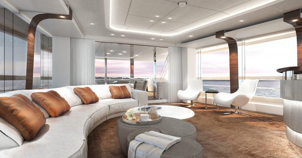 Yacht project Altea's interior