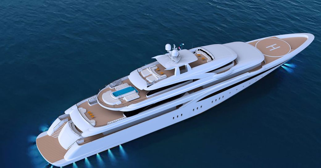 85m Superyacht O'PTASIA To Be Delivered In May And Open For Summer Charters photo 5