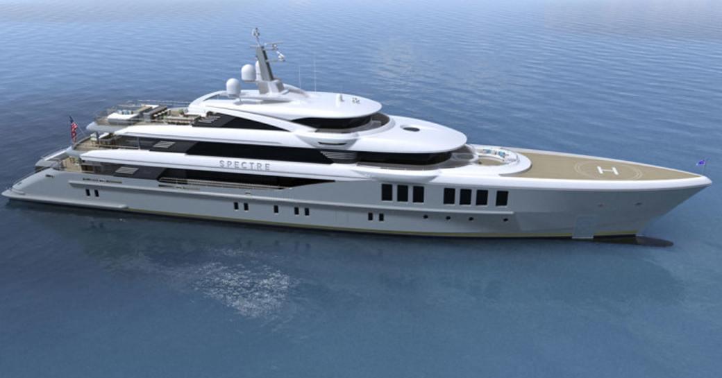 Benetti launches superyacht SPECTRE photo 1
