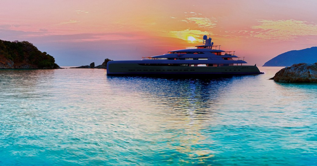 New renderings paint a picture of serenity aboard 88m megayacht 'Illusion Plus' photo 13