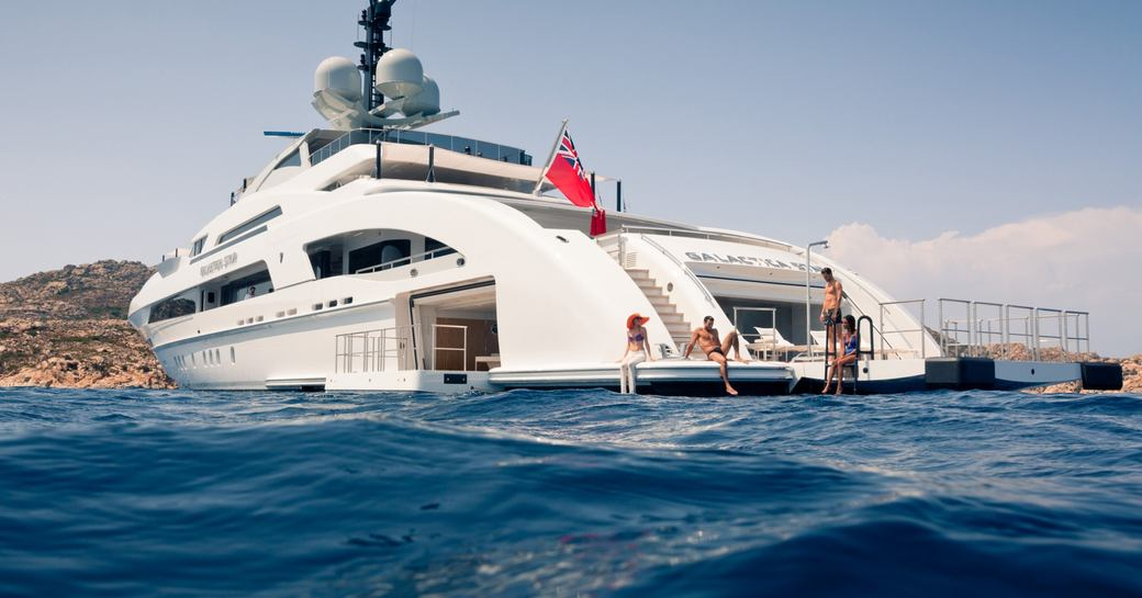 ILLUSION yacht sea terraces