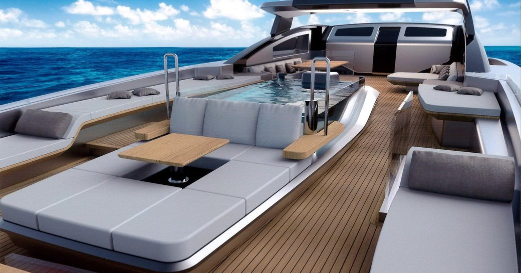 Sundeck onboard MY Panam