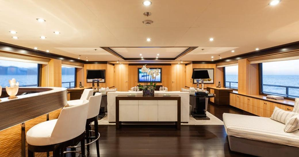 Newly renamed 55m motor yacht REVELRY now available for charter in Mediterranean photo 2
