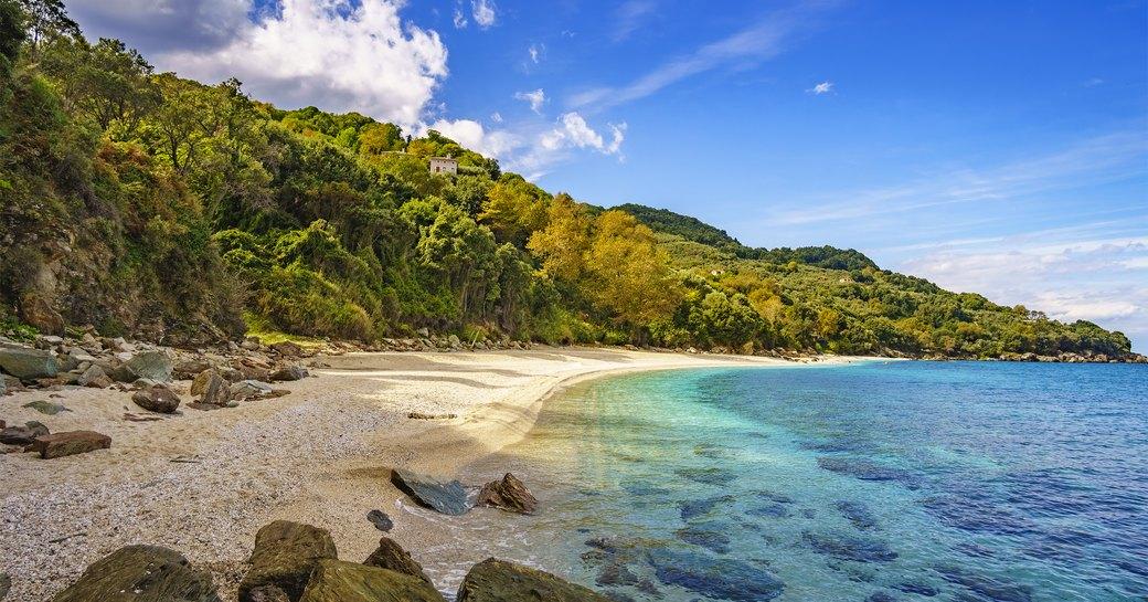 Greece plaka beach