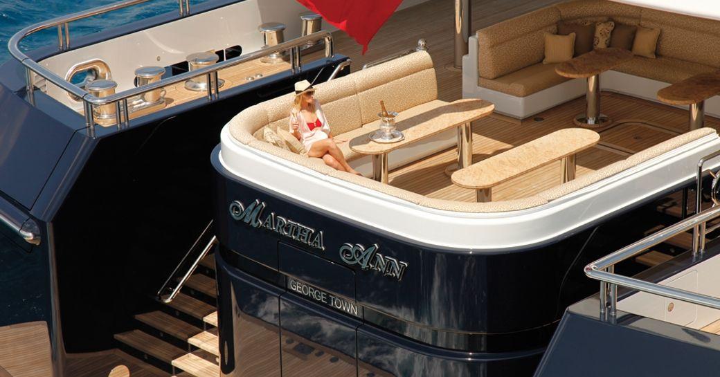 Lurssen Charter Yacht 'Martha Ann' To Attend The Monaco Yacht Show 2016 photo 1