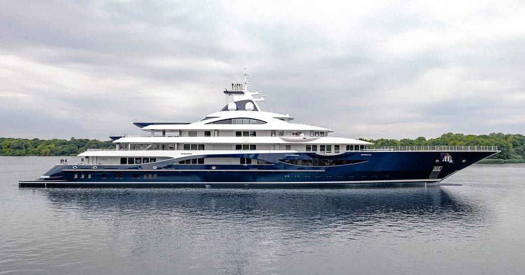Ex-charterer takes delivery of 111m Lurssen superyacht TIS photo 3
