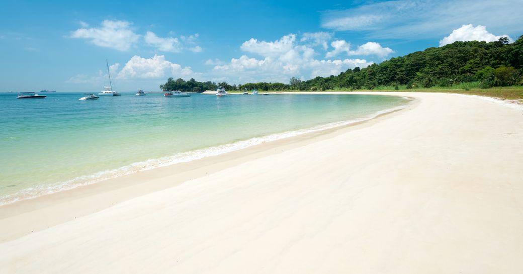 Singapore's Lazarus Beach