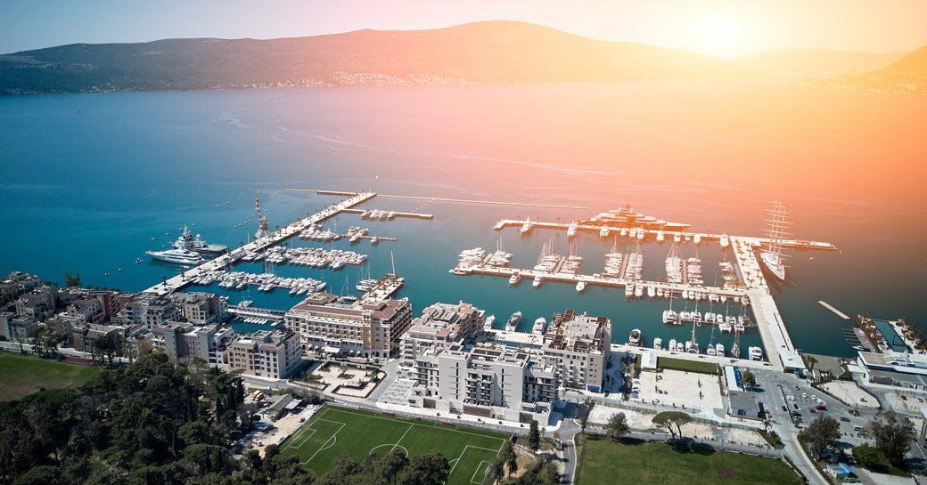 View over Porto Montenegro
