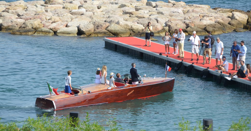 Concours d'elegance at Cannes Yachting Festival