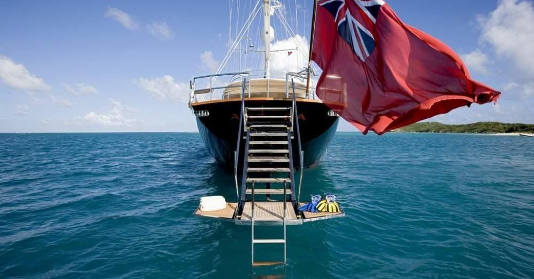 Sailing Yacht ANTARA Undergoing Refit Ahead of Summer Charter Season photo 1