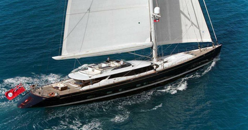 sailing yacht prana underway