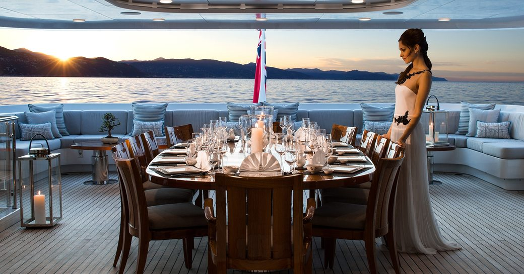 motor yacht TURQUOISE available for christmas and new year's charter in the Caribbean