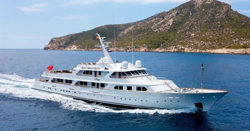 Classic Feadship Mirage in the Caribbean
