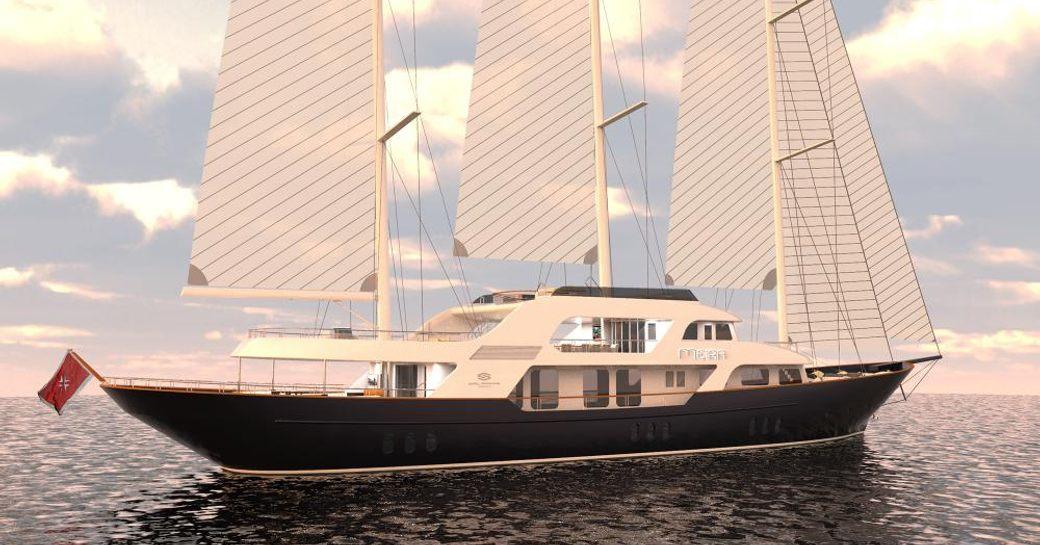 sailing yacht MEIRA joins the global charter fleet