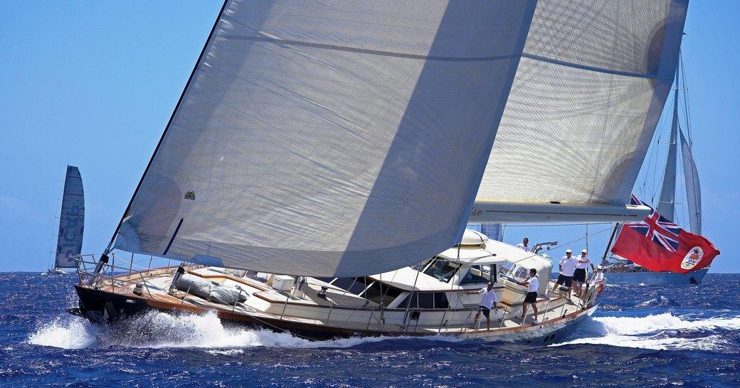 sailing yacht MARAE attending Newport Charter Show 2015