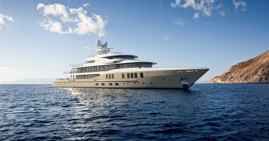 amels luxury yacht rendering