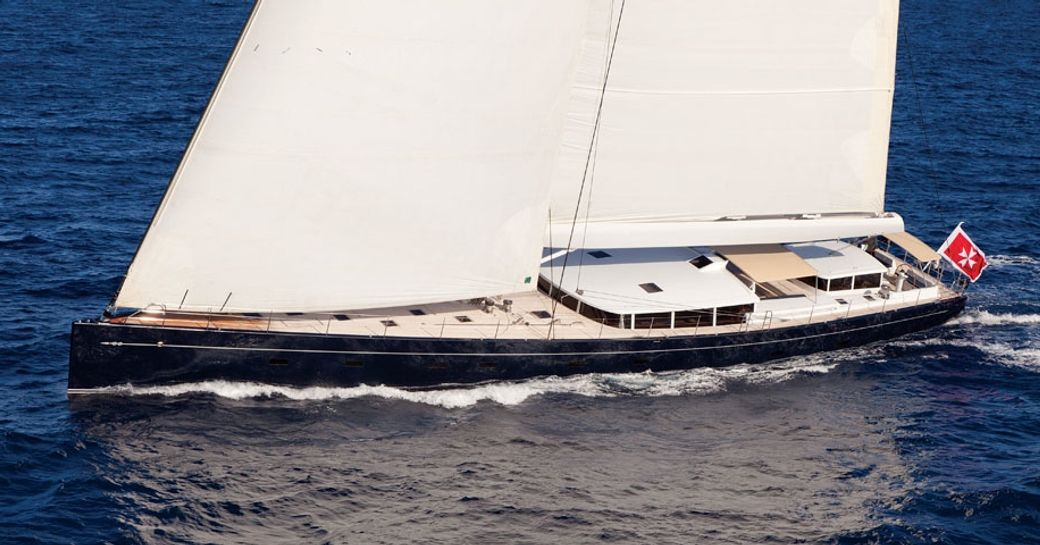 Vitters sailing yacht 'Cinderella IV' attending the Cannes Yachting Festival 2015