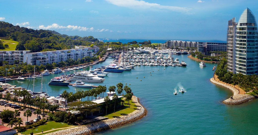ONE°15 Marina Club hosts the singapore yacht show