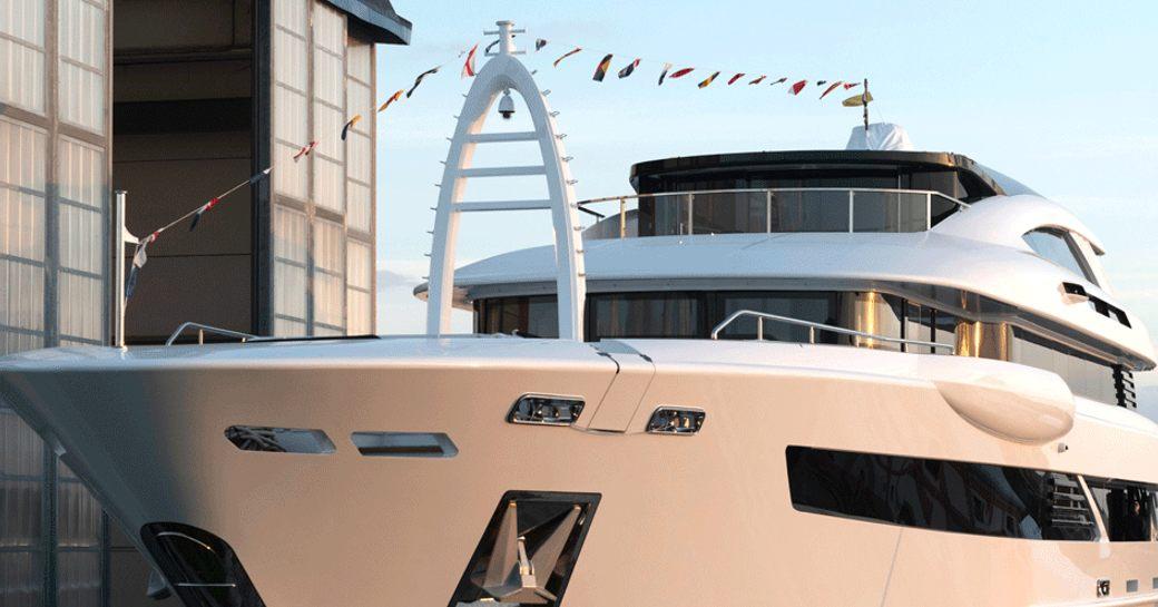 luxury yacht florentia by rossinavi