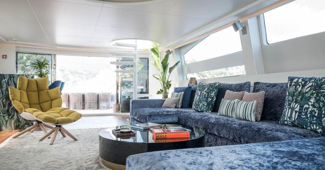 Blue jay yacht interiors