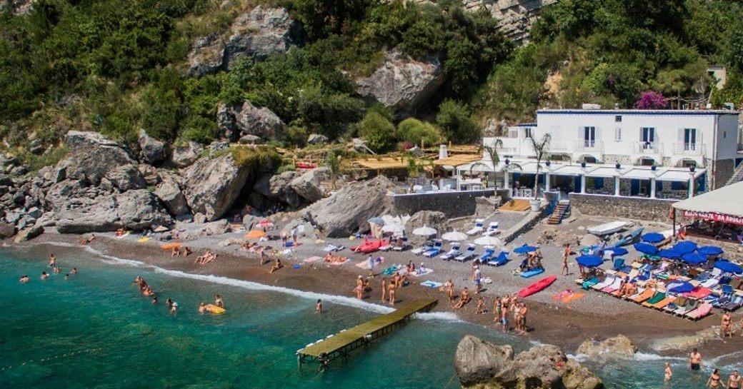 Beach in Amalfi Coast