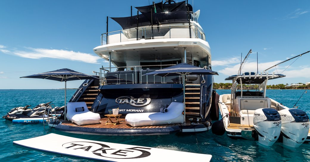 Superyacht 'Take 5' Available For Charter In France This September photo 5
