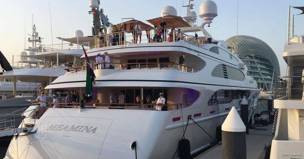 Superyachts Flock to the Abu Dhabi Grand Prix 2016 photo 1