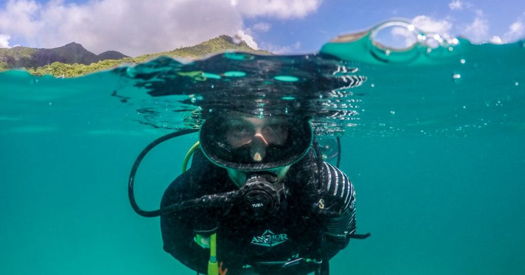 Diving in Seychelles