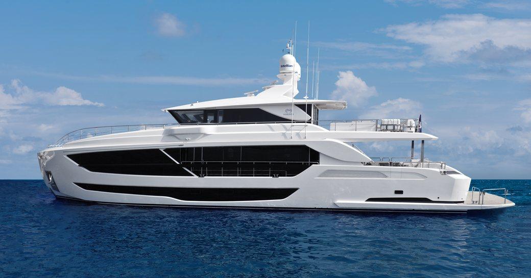 charter yacht impatient IV underway in the Mediterranean