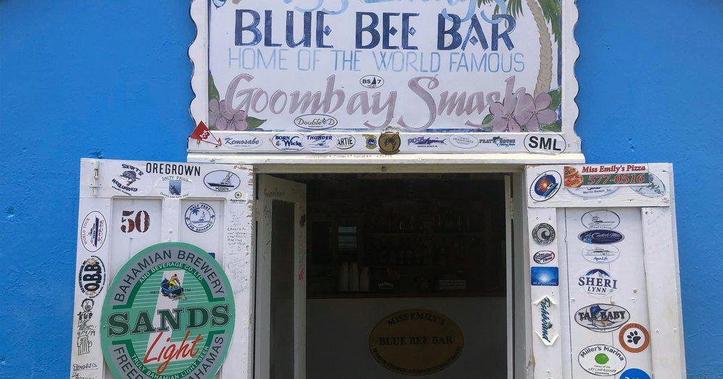 Miss emily's blue bee bar bahamas
