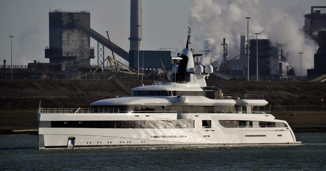 93m Feadship charter yacht 'Lady S' with IMAX theatre nearing completion photo 3