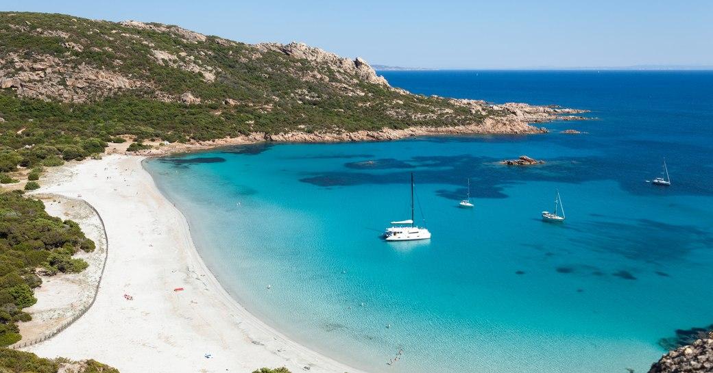Roccapina beach in Corsica