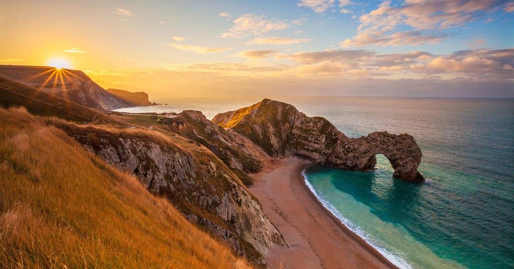 Jurassic Coast in the UK