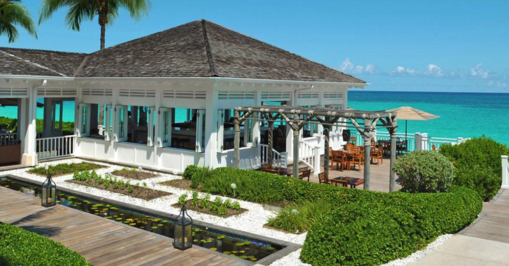 Dune restaurant in the Bahamas